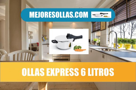 Olla express 6 litros