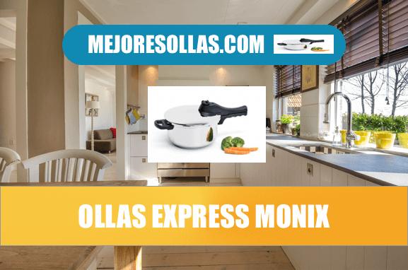 mejores ollas express Monix